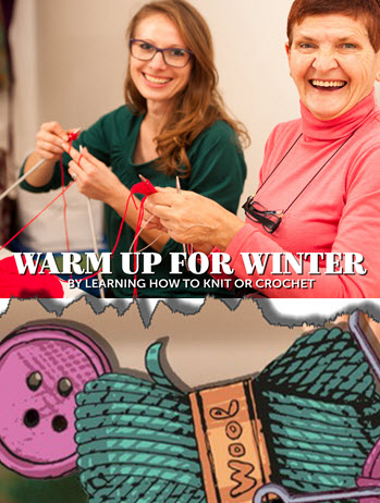 Learn to Knit in the Burrow