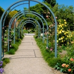 Friends Mixed Border archway
