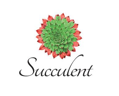 Succulent restaurant logo