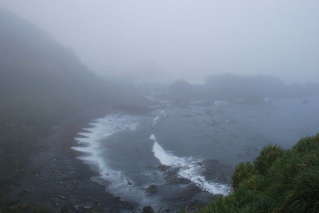 Typical weather on Macquarie Island