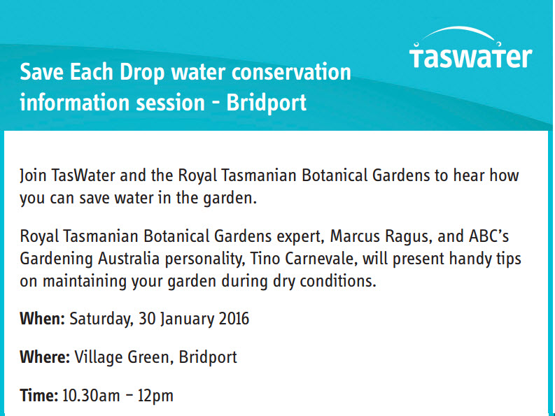 TasWater information session for Campbell Town