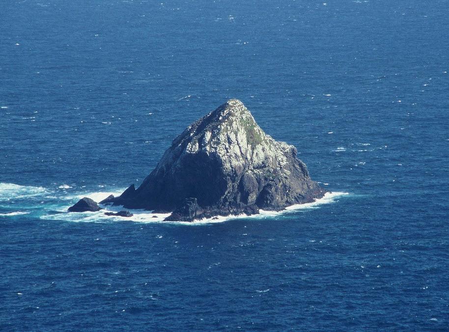 Offshore islet