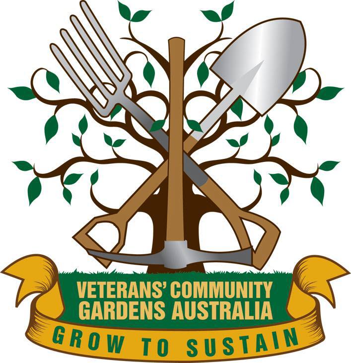 Veterans Community Gardens logo