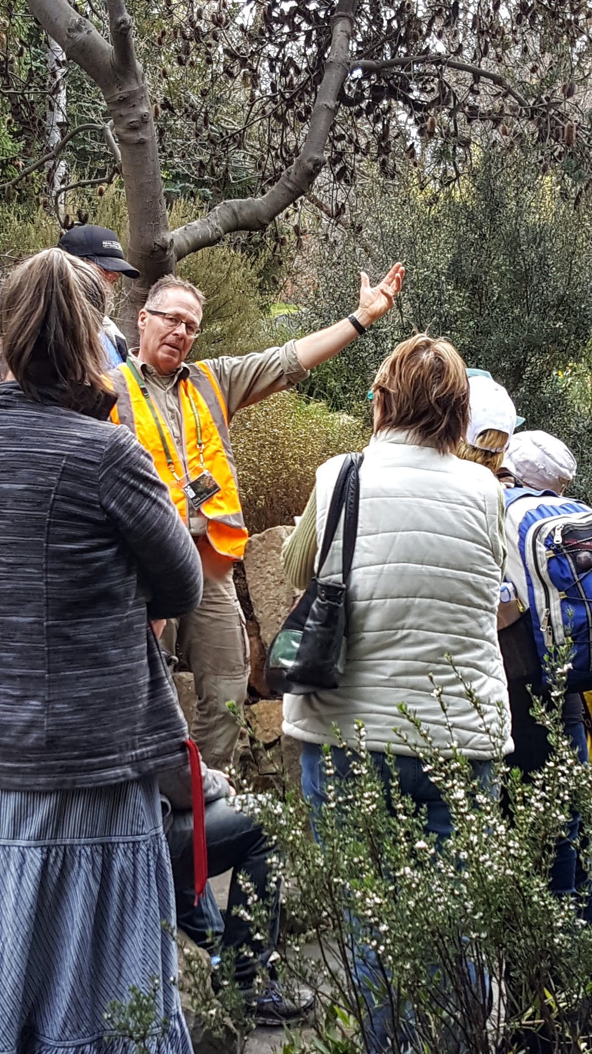 Chris Lang Native Plants tour Rare and threatened 2016