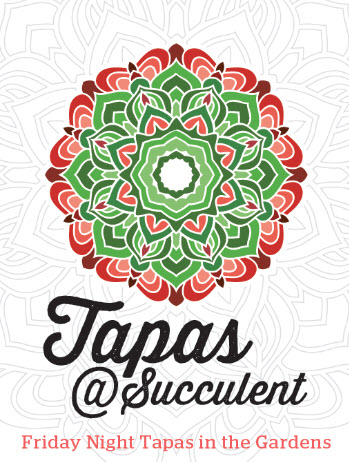 TAPAS IN THE GARDENS Friday Nights